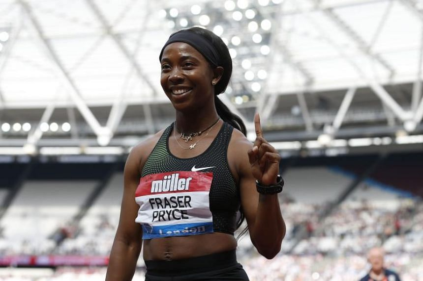 Shelly-Ann Fraser-Pryce (pictured, in 2018) clocked 10.88 seconds in the 100 metres event at the Racers Grand Prix in Kingston, Jamaica, on June 8, 2019.