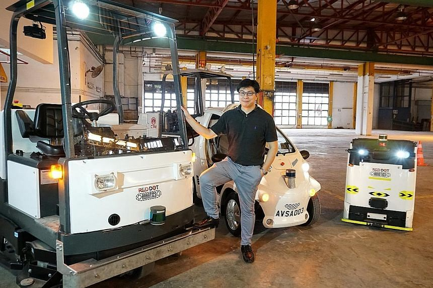 By 2025, Red Dot Robotics founder Joseph Lew wants to commercialise his autonomous solutions and supply them to the world's top 10 airports.