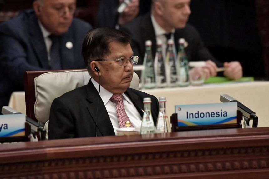Vice President Jusuf Kalla touted 28 projects with a total price tag of US$91 billion (S$124 billion) to be financed under the Belt and Road Initiatives when he attended the Belt and Road Forum in Beijing in April.