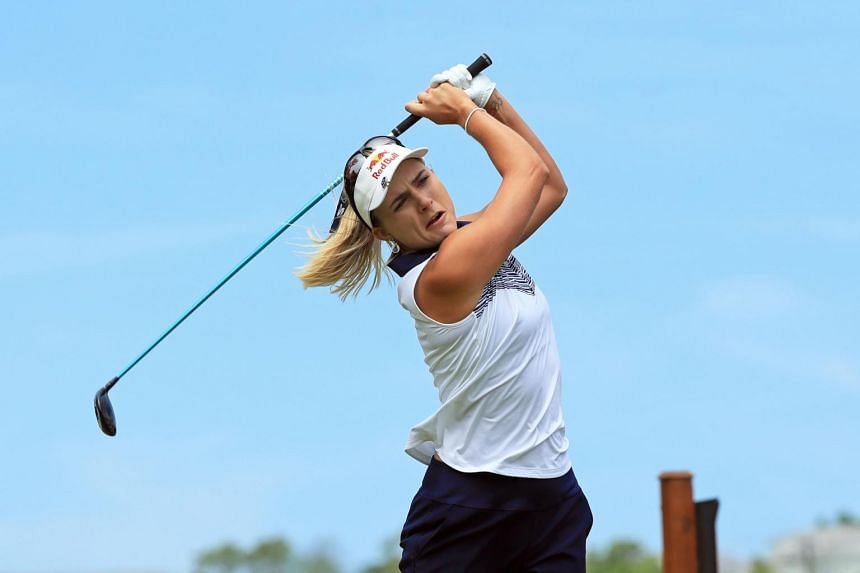 Lexi Thompson finished one shot in front of 36-hole leader Lee6 Jeong Eun for her 11th LPGA title.