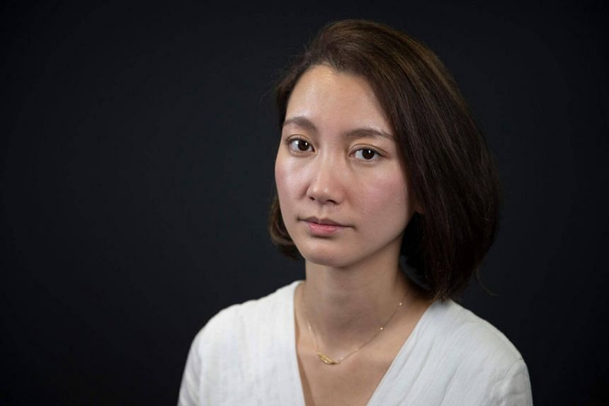 Japanese journalist and director Shiori Ito, one of the key figures of the #MeToo movement in Japan.