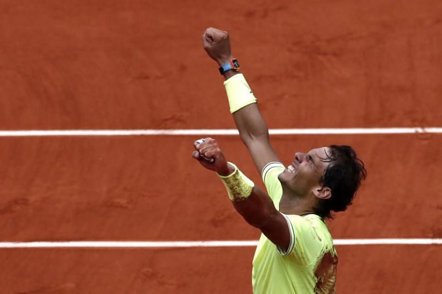 Image result for Nadal sweeps to 12th French Open and 18th Grand Slam title