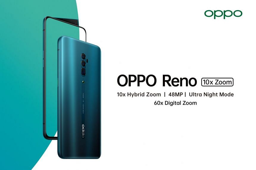 Further your vision with the new OPPO Reno 10x Zoom edition. PHOTO: OPPO