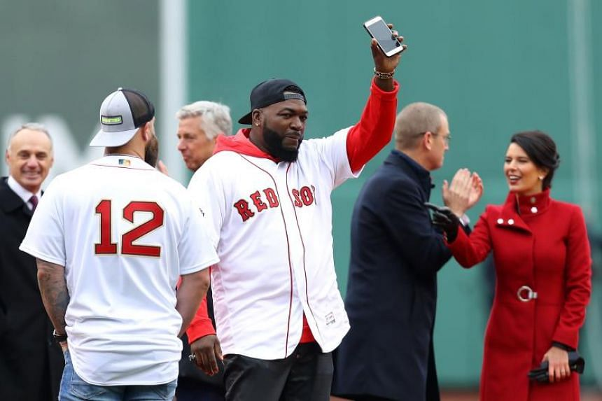 db9e1fd3 Baseball: Former Boston Red Sox star David Ortiz stable after being shot in  stomach in Dominican Republic