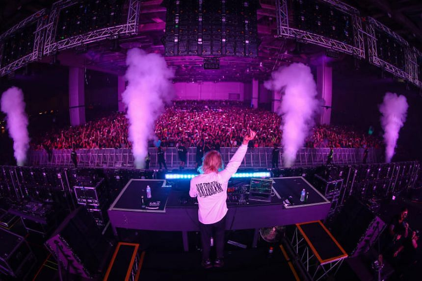 Porter Robinson performs on June 9, 2019, at Ultra Singapore 2019.