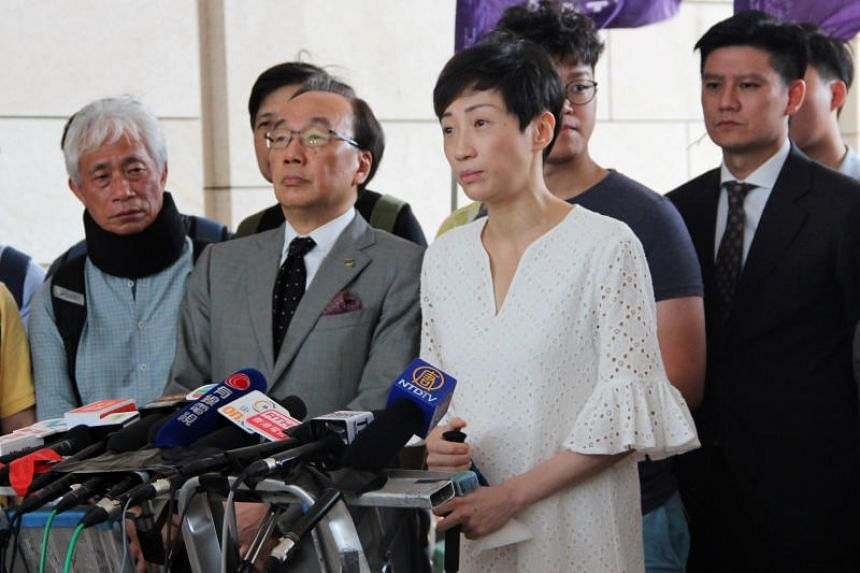Legislator Tanya Chan received a suspended sentence of eight months to two years as the judge took into account a medical condition.