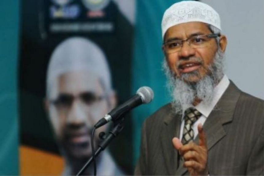 Mr Zakir Naik, a radical television preacher, reportedly left India in 2016 and subsequently moved to largely Muslim Malaysia, where he was granted permanent residency.