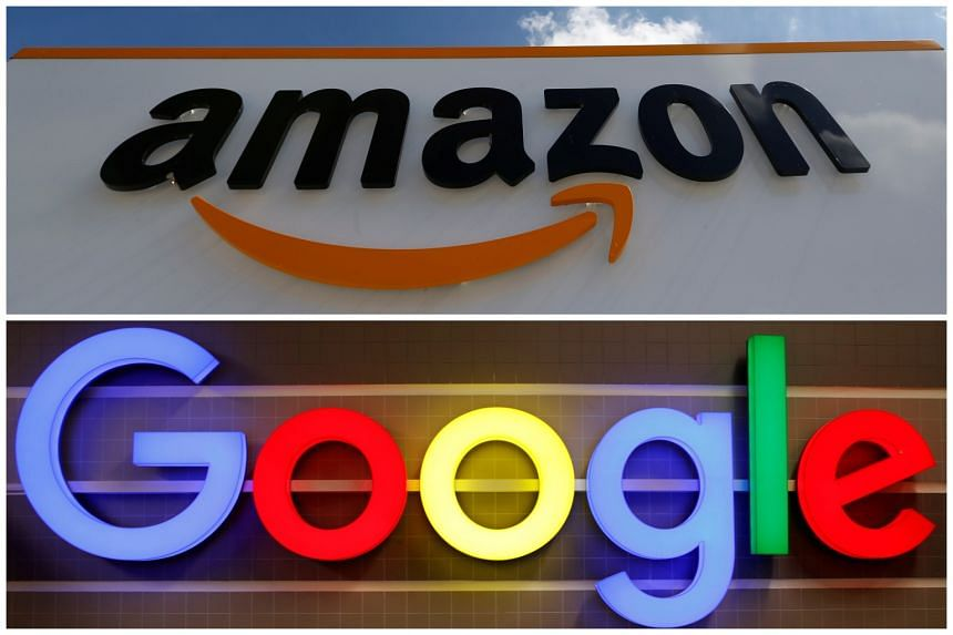 Amazon jumped from third to first place to eclipse Google - which slid from first to third place with Apple holding on to the second spot.