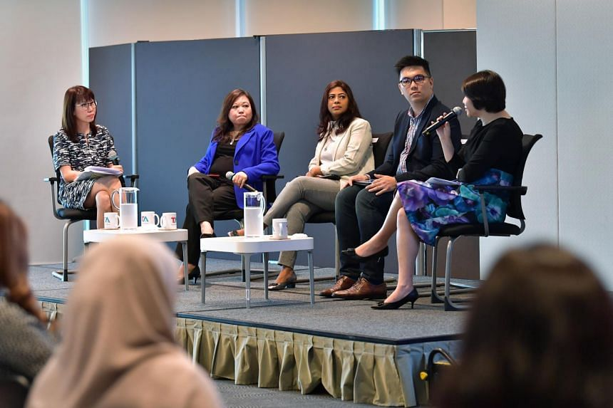 The panellists at an industry event told attendees that the once-taboo subject of work-life harmony is increasingly a norm at workplaces.