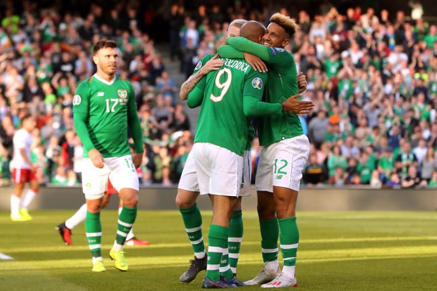 Ireland have 10 points after four games with Denmark second on five from three.