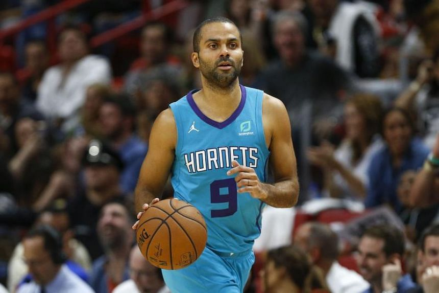 Tony Parker spent 17 seasons with the San Antonio Spurs before joining the Charlotte Hornets in 2018.
