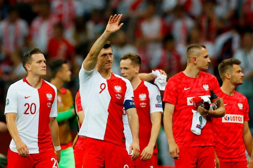 Poland are on 12 points in Euro 2020 qualifying Group G after thrashing Israel 4-0 at home.