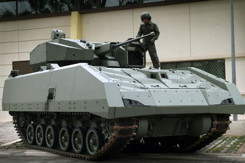 Hailed as a centrepiece of the next-generation army, the vehicle, called the Hunter, was commissioned at the Armour formation's 50th anniversary parade on June 11, 2019.