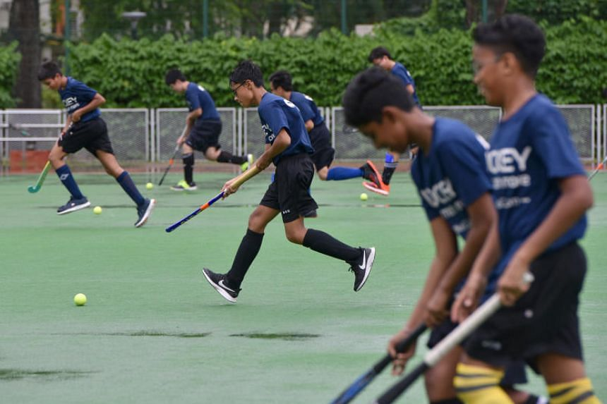 Anglo-Chinese School (Barker Road) and Queensway Secondary School will compete as a combined team at this year's National School Games C Division hockey championship.