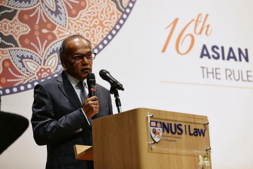 Minister for Law and Home Affairs K. Shanmugam  added that for Singapore to be an international legal services hub, it has to further strengthen its position as a dispute resolution centre.