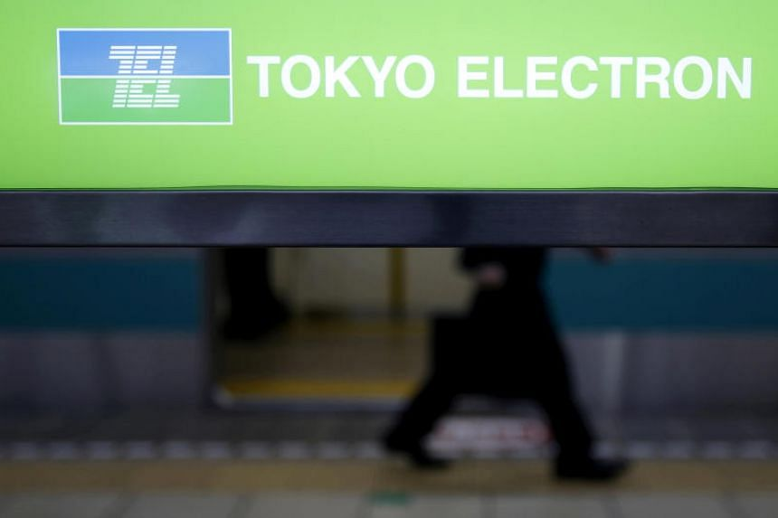 Tokyo Electron controls nearly 90 per cent of the market for microchip coaters and developers.