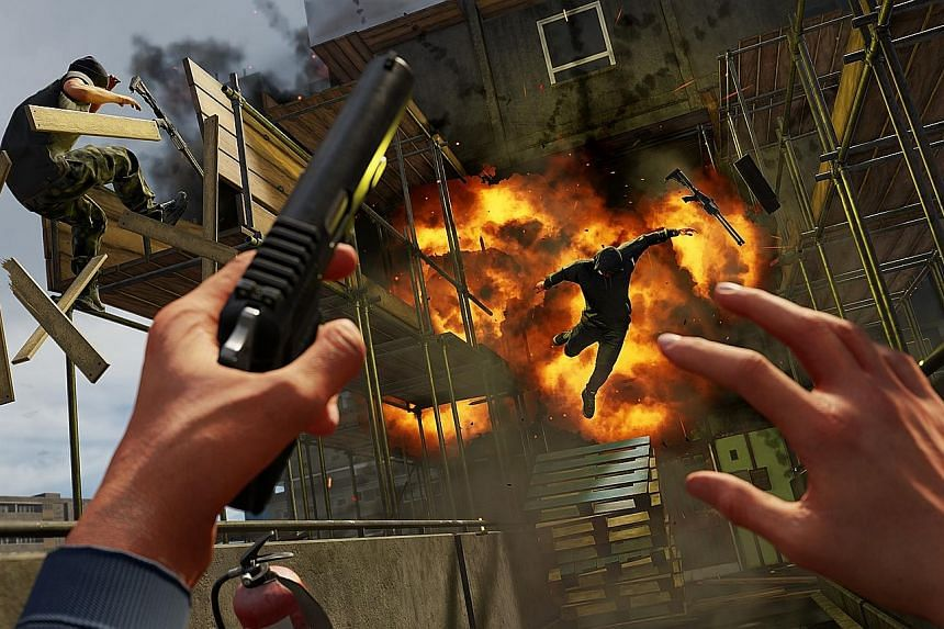 Virtual-reality action shooter Blood & Truth tells a typical story of revenge and family drama. Character performances are impressive and the campaign features big Hollywood-esque action as well as memorable quieter sections.