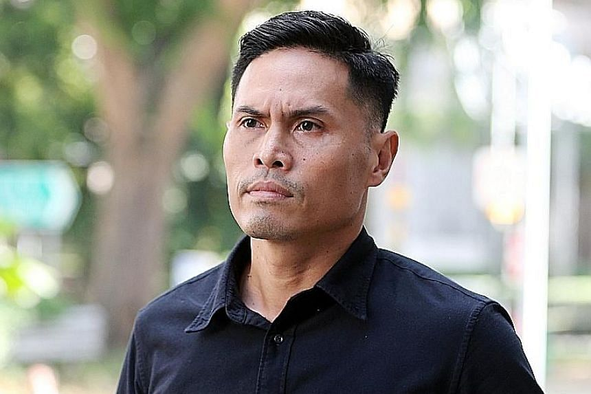 Nazhan Mohamed Nazi, 40, a first senior warrant officer, and Kenneth Chong Chee Boon, 38, a lieutenant, had allegedly failed to prevent a group of officers from pressuring Corporal Kok Yuen Chin to enter the pump well, thereby endangering his life. S