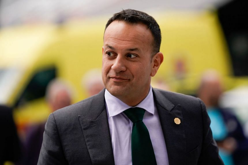 Ireland's Prime Minister Leo Varadkar arrives for an event in Brussels in May 2019.