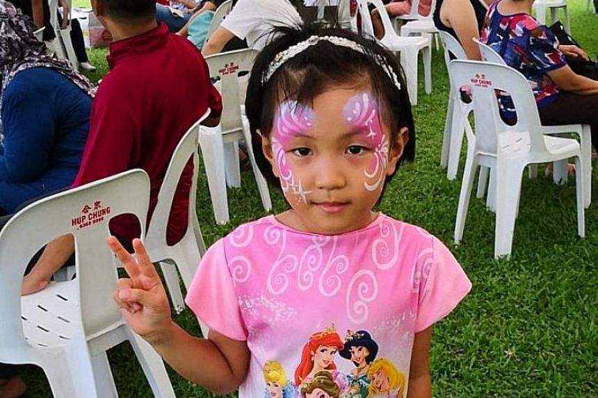 The mother would usually drop off the girl at a childcare centre but on that day, she did not do so as the centre was open for only half a day.