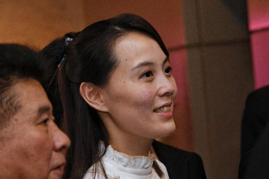 North Korean leader Kim Jong Un's sister, Kim Yo Jong, is expected to meet South Korean officials at the demilitarised zone.