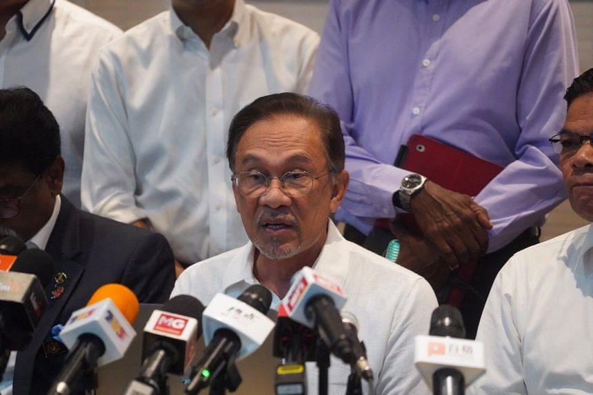 """Parti Keadilan Rakyat Anwar Ibrahim said in a news conference on June 12, 2019, that the party rejects the """"gutter politics"""" that the country is witnessing today."""