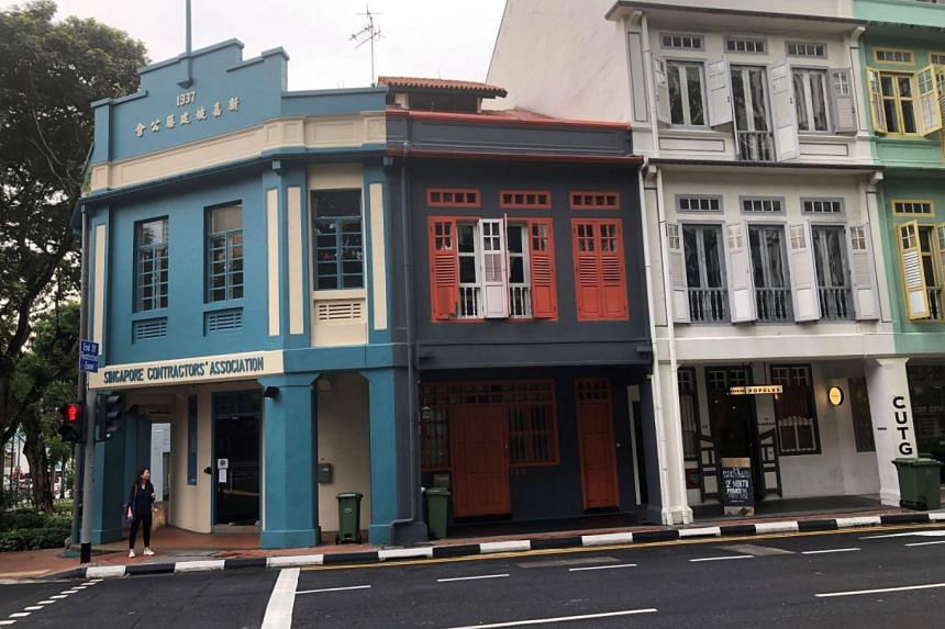 The two-storey Neil Road shophouse has a guide price of S$15.5 million. It sits on a freehold site of about 1,587 sq ft, with a total built-up area of about 4,197 sq ft.