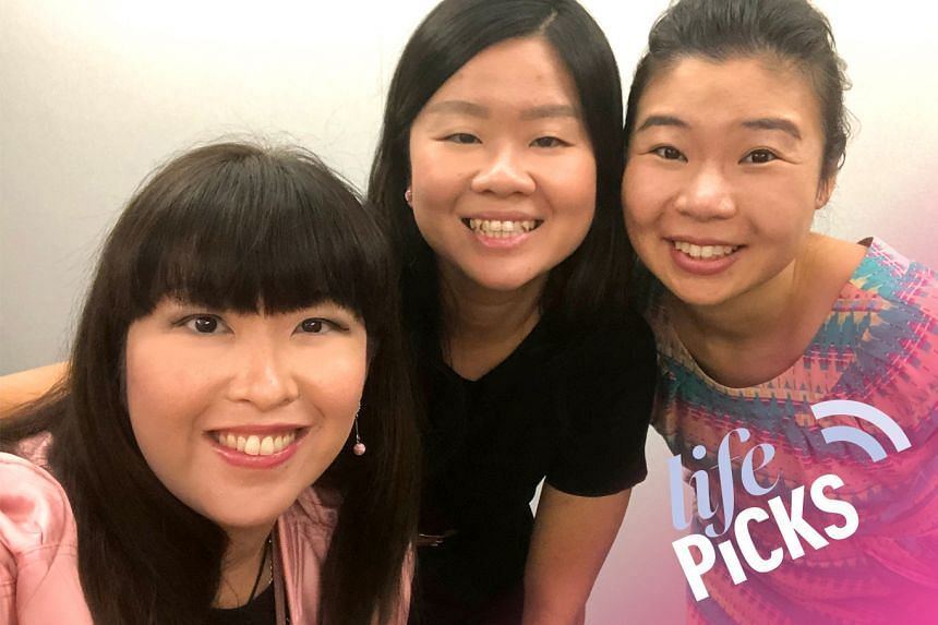 (From left) ST's food experts Hedy Khoo and Eunice Quek are hosted by Melissa Sim in this podcast as they chat about the best things to do in Singapore from June 13-27.