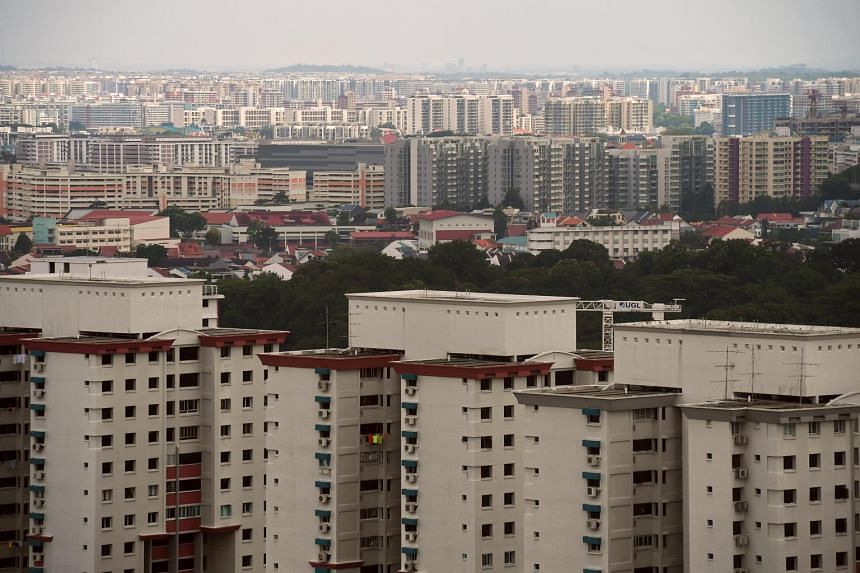 Public and private housing in Toa Payoh.