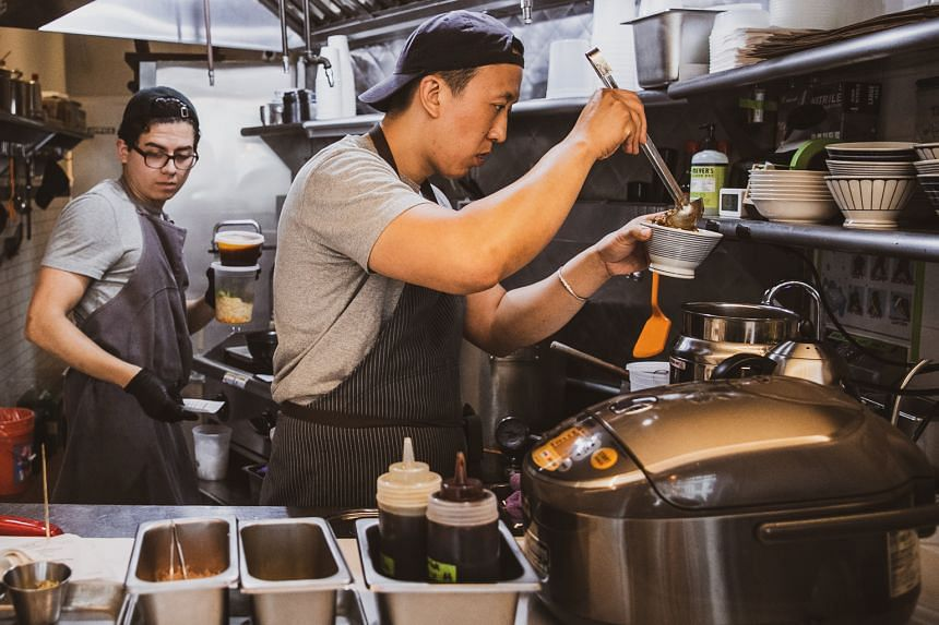 Chef Richard Ho (above right), owner of Ho Foods in Manhattan, is on a mission to serve the best possible version of beef noodle soup, widely considered the national dish of Taiwan.