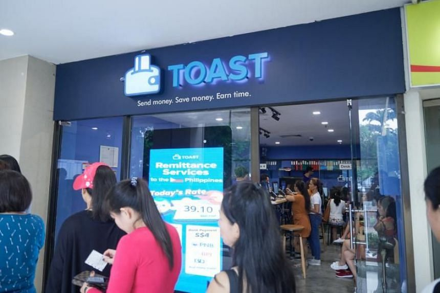 In October 2018, the MAS told ST it was reviewing such loan practices after the paper reported how Toast Me, a remittance licensee in Lucky Plaza, was granting cash advances with interest to maids.