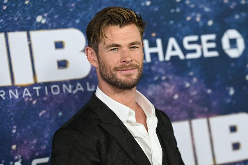 Australian actor Chris Hemsworth attends the Men In Black: International premiere at AMC Lincoln Square on June 11, 2019 in New York City.