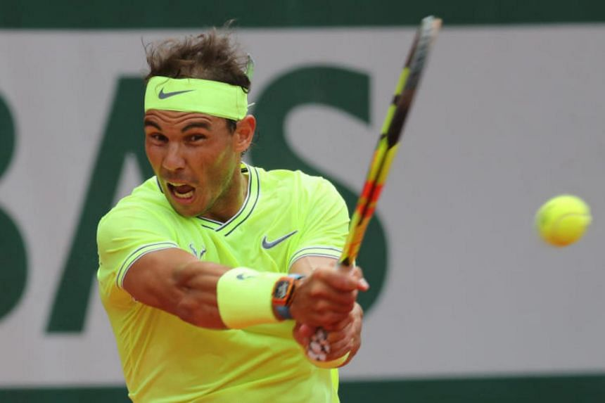Tennis player Rafael Nadal said he had struggled to stay motivated because of the constant pain but had been determined to acquit himself well at Roland Garros.