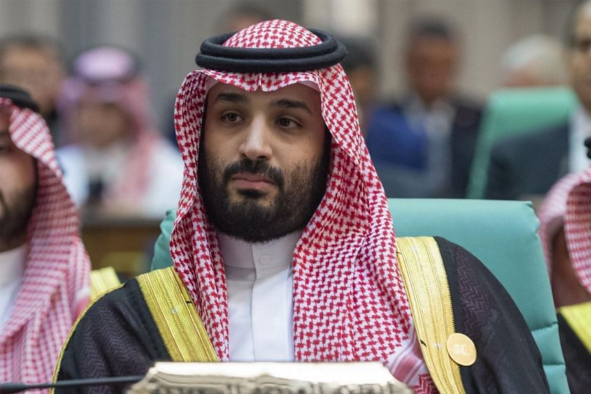 Princess Hassa is sister to Saudi Crown Prince Mohammed bin Salman (above)