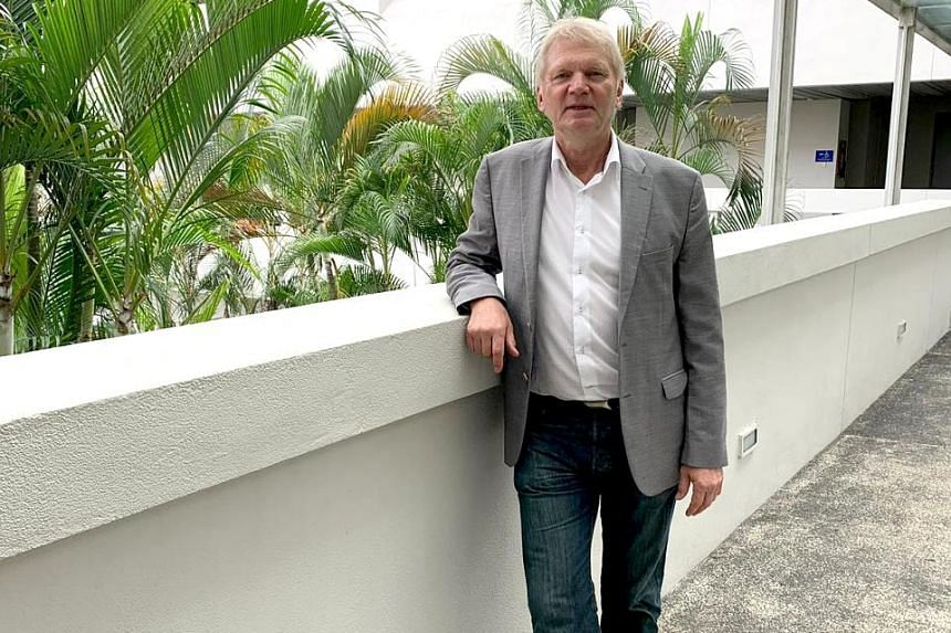 Professor Joergen Schlundt says food safety is sometimes beyond the consumer's control. PHOTO: NANYANG TECHNOLOGICAL UNIVERSITY