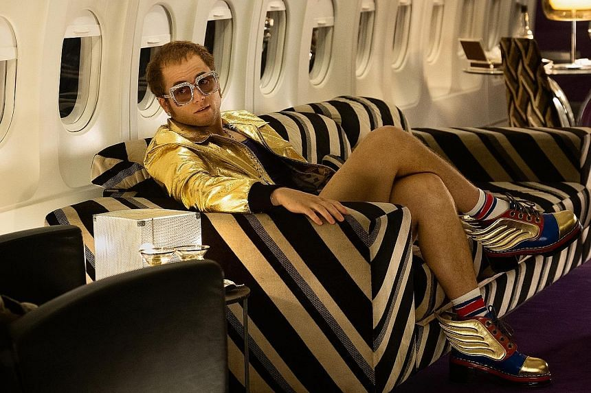 Actor Taron Egerton performed all the songs in Rocketman instead of lip-syncing.