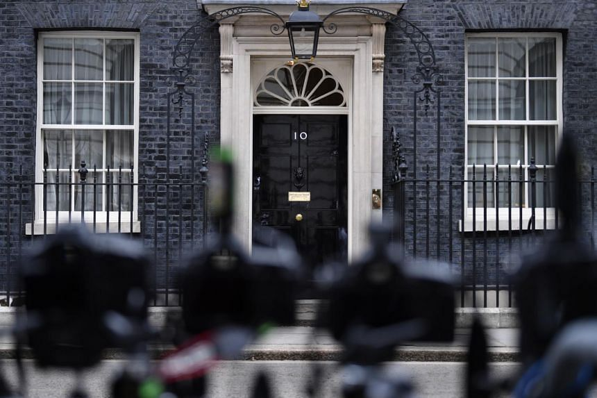 10 Downing Street in London, Britain, the official residence of the British prime minister, on June 4, 2019.