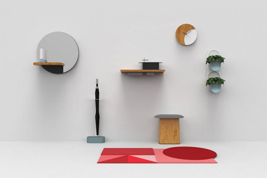 Objects by the Entrance Way collection by Mr Kenny Hong, founder of local design studio 11H.