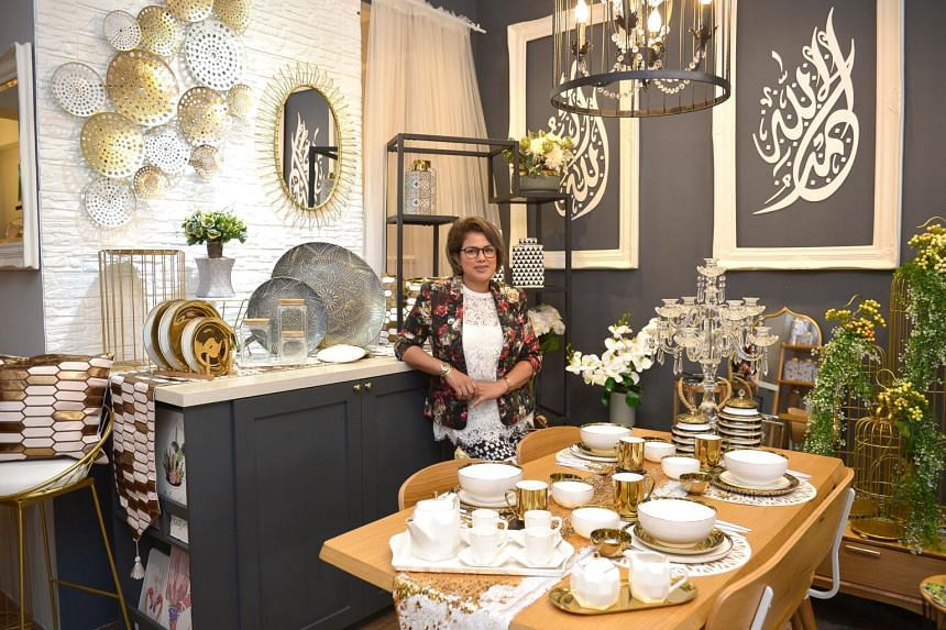 Founded online in 2015, the PropUpStore brand started as a side gig during Ramadan that year as that was her least busy period for weddings, says Madam Mohsin, who has been in the local bridal industry for more than 15 years.