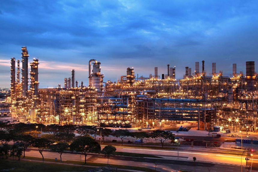 ExxonMobil's refinery in Jurong is the company's largest global integrated refining and petrochemical complex.