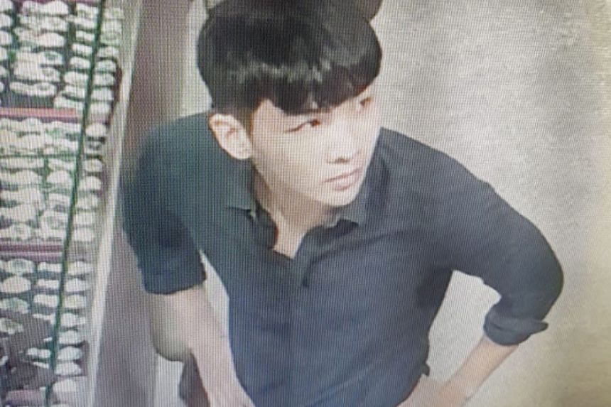 The man allegedly robbed HJ Luxury of two diamond-encrusted Rolex watches worth about $150,000.