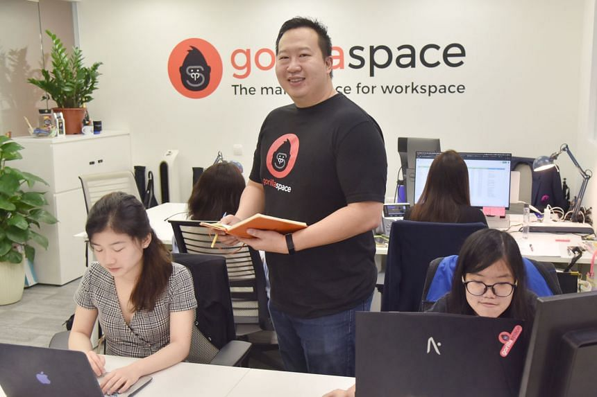 GorillaSpace marketing head Ng E-Fei decided to join the firm for a variety of reasons, one of which was its good work-life schemes.