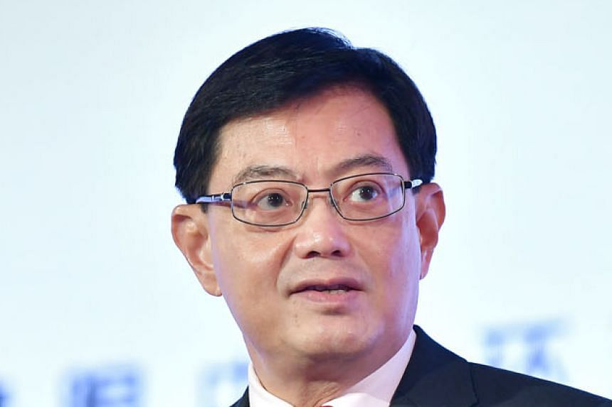 Only about 5 per cent of economic losses in Asia are insured, putting great strain on governments if a natural disaster strikes, says Mr Heng Swee Keat.