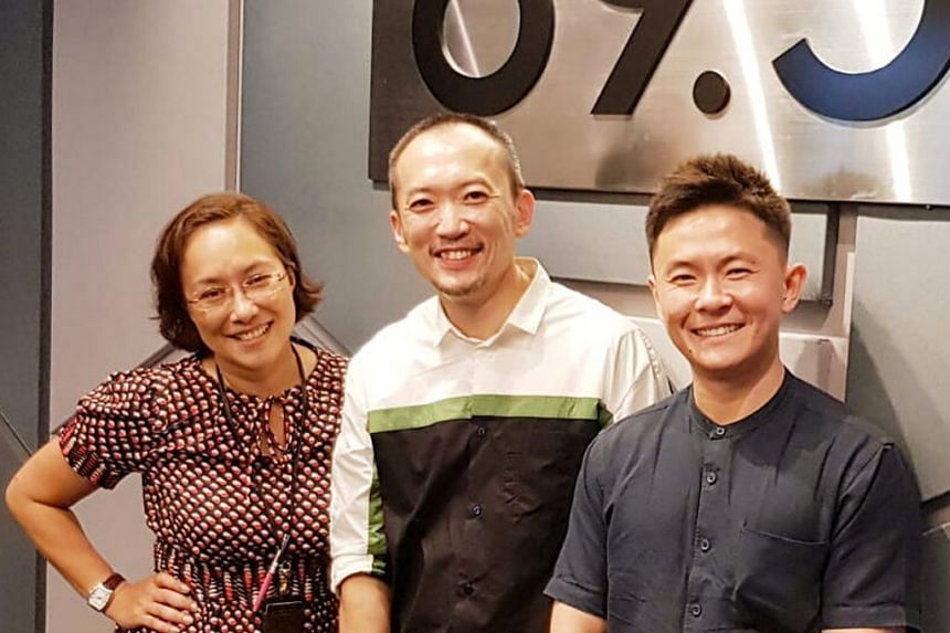 SPH's chief marketing officer Ignatius Low (centre) joins Julian Kho from sgcarmart (right) and Claressa Monteiro for a chat about lifestyle cars he has and would like to own.