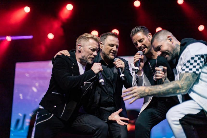 Boyzone performing at The Star Theatre as part of their Thank You & Goodnight farewell tour on June 12, 2019.