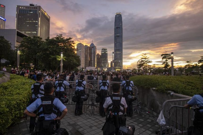 Life returned to some semblance of normalcy in Hong Kong on June 13, 2019, though the roads near the Legislative Council and government offices in Admiralty remained closed.