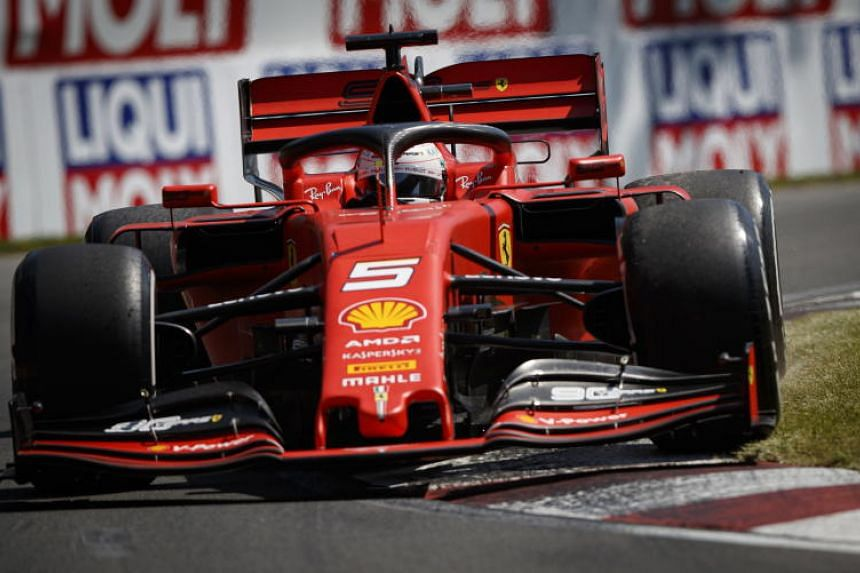 Ferrari's Sebastian Vettel was given a five-second penalty in the Canadian Grand Prix on June 9, 2019, leaving him in second place.