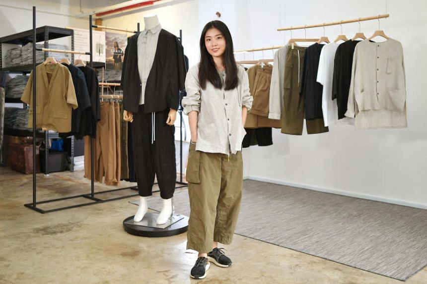 Menswear designer Xie Qian Qian describes her design ethos as bringing a modern touch to more traditional garments, to make them suitable for everyday wear.
