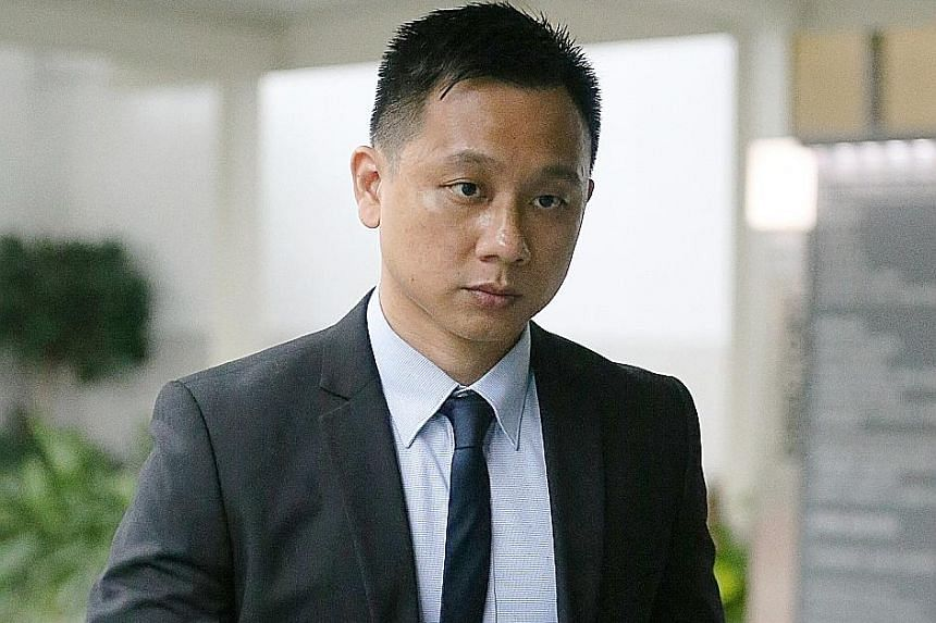 Kenneth Chong Chee Boon and Nazhan Mohamed Nazi have each been charged with aiding a rash act that caused grievous hurt by illegal omission. Former Tuas View Fire Station commander Huang Weikang, when asked how he would have stopped the men from carr