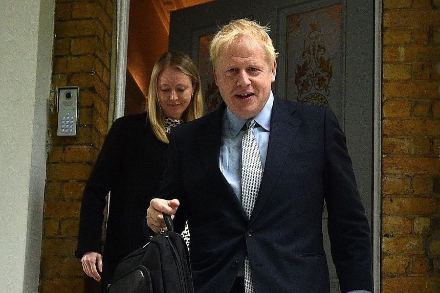 Mr Boris Johnson has won the support of 114 Conservative Party lawmakers in the first round of the contest to replace British Prime Minister Theresa May. PHOTO: AGENCE FRANCE-PRESSE